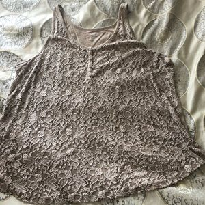 Lane Bryant lace tank